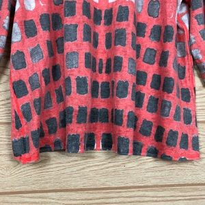 Nally & Millie Sweaters - NALLY & MILLY Colorful V-Neck 3/4 Sleeve Sweater